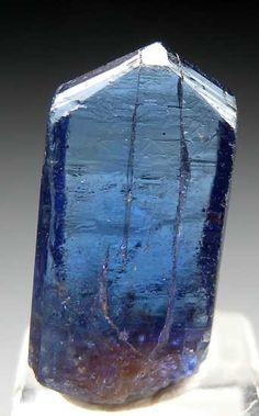 Complete, highly gemmy Tanzanite from Merelani Hills, Arusha, Tanzania