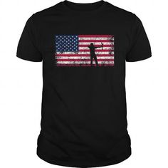 American Flag Archery Tshirt  Archery Team Gift