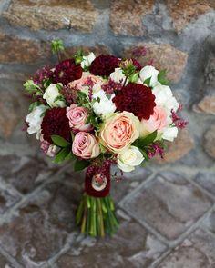 Осенний букет для невесты Анечки❤️ #ifstudiо#букетневестыновосибирск