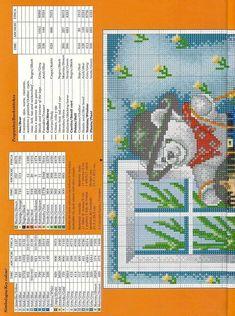 Para los peques... en punto de cruz (pág. 28) | Aprender manualidades es facilisimo.com
