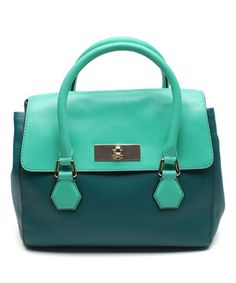 Another great find on #zulily! Kate Spade Deep Emerald Catherine Street Joanie Leather Satchel by Kate Spade #zulilyfinds