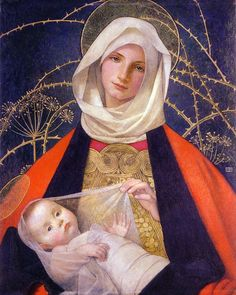 Madonna and Child  by Marianne Preindelsberger Stokes (ARC)