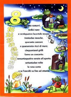 Tabla del num 8 // Italian