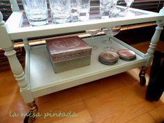 Cómo restaurar una camarera vintage paso a paso