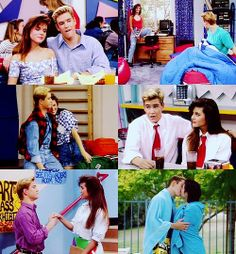 favorite show, favorite couple (saved by the bell) ZACK && KELLY FOREVER!! <3