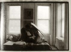 © Duane Michals -used to have this postcard. Love it still.