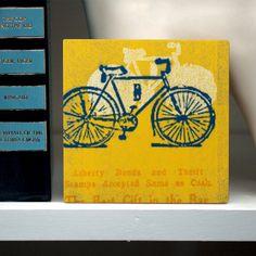 Liberty Bike Art Block