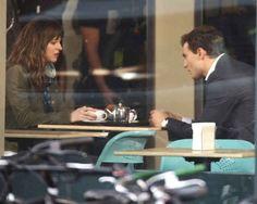 "First Photos Of Dakota Johnson And Jamie Dornan Filming ""50 Shades Of Grey"""