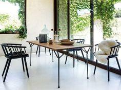 Magis Officina Wood Dining Table by Ronan & Erwan Bouroullec - Chaplins | www.bocadolobo.com #bocadolobo #luxuryfurniture #exclusivedesign #interiodesign #designideas #dining #diningtable #luxuryfurniture #diningroom #interiordesign #table #moderndiningtable #diningtableideas #moderndiningroom #diningspace #diningarea #diningchair #diningset #diningroomset #tablesetting #diningdesign