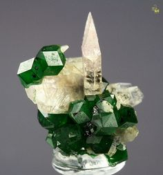 Heazlewoodite, Grossular, Diopside from Canada...  It looks like a King!!!!