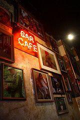 Cafe bar with a cuban style interior