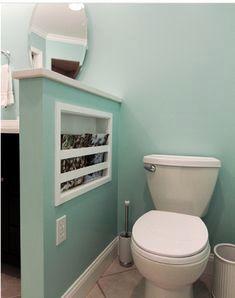 Bathroom Wall Storage Toilet Privacy