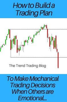 In this article, discover how to build a trading plan to make mechanical trading. In this article, discover how to build a trading plan to make mechanical trading decisions when others are fearful. Trading Quotes, Intraday Trading, Money Trading, Proprietary Trading, Online Stock Trading, Stock Trading Strategies, Cryptocurrency Trading, Technical Analysis, Stock Market
