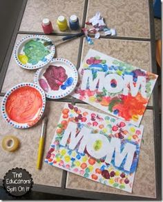 123 Homeschool 4 Me: 25+ Mother's Day Gifts Kids Can Make & TGIF #120