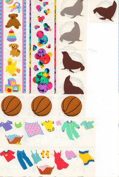 Creeative Memories 2x5 Studio Sticker Strip~U Choose~Spring Time~Easter