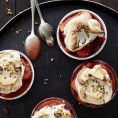 Ricette per dessert senza lattosio | Migusto Pancakes, Pudding, Breakfast, Desserts, Food, Morning Coffee, Tailgate Desserts, Deserts, Custard Pudding