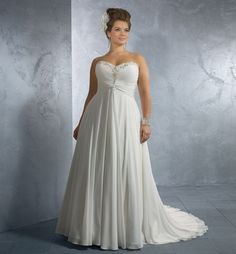elegant plus size wedding dress patterns