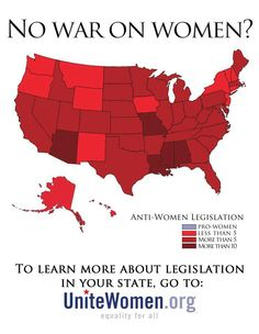 """If it's not a """"war"""" on women, the lack of pro-women legislation, often supported by the female legislators controlled by the far right, indicates maybe its a last hurrah for the misogynistic, terrified, cabal of the ultra-rich trying to maintain their hold on American society.   Even at the risk if standing up an fake but powerful evangelical version of a US Taliban."""
