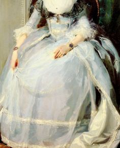 Queen Charlotte (Detail), by Sir Thomas Lawrence