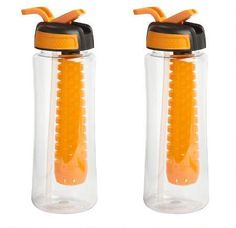 Infuser Water Bottles, Set of 2: Give your favorite beverages a cool and flavorful kick with our stylish water bottles.… #coupons #discounts