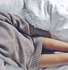 To look great in long sweaters ♥