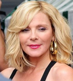 Lovely Kim Cattrall Curly Hairstyle : Hairstyles | 2015 Short Hair styles | Celebrity Haircuts