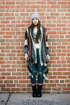 Urban Fieldnotes: 21 Days of Street Style: Day 17, Madison, South St #C21Philly #21DaysOfStreetStyle