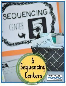 Make learning fun and interactive with these turn-key sequencing centers.  The resource includes 6 centers that will have students reading, writing, and working collaboratively to master the skill of finding the sequence in a text.