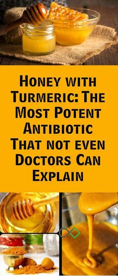 HONEY AND TURMERIC CREATE THE MOST POWERFUL ANTIBIOTIC THAT EVEN DOCTORS CANT EXPLAIN! #honey #turmeric #antibiotic #naturalantibiotic