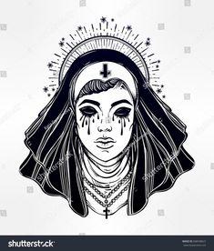 Right! cartoon evil fetish nun agree, rather