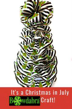 Christmas Crafts   Christmas DIY Gifts Making   Bowdabra Bows Christmas Tree Bows, Christmas In July, Diy Christmas Gifts, Christmas Decor, Bow Making Tutorials, Making Ideas, Making Hair Bows, Diy Hair Bows, How To Make Hair