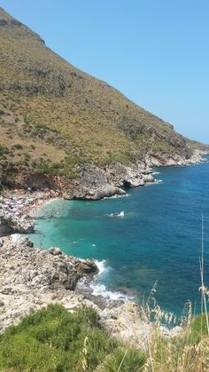 La riserva dello Zingaro. Sicily.