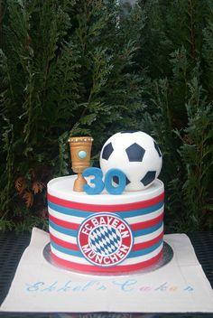 Bayern München Cake Football