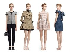 RED Valentino Spring Summer 2013 Pre-Collection - Take a peek at the latest RED Valentino spring/summer 2013 pre-collection and get ready to transform your styling into blissful charm. Sweet pinks and dazzling florals, bows and ribbons are the perfect ingredients for a dreamy season!