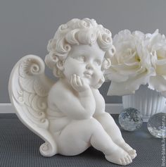 VK is the largest European social network with more than 100 million active users. Angel Decor, Angel Art, Angel Sculpture, Sculpture Art, Angel Drawing, Garden Angels, Angel Statues, Buddhist Art, Clay Art