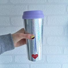 Omg! My new ban.do mug has arrived! I love it!  it's super sparkly just the way I like it