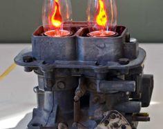 Sophia: Industrial / Steampunk Stil Tischlampe von MechanicalDragon