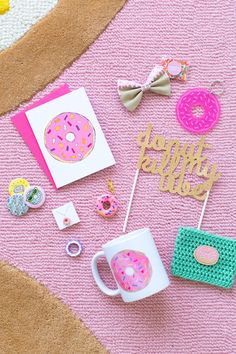 Happy National Donut Day GIVEAWAY including Floating Specks Donut Card!