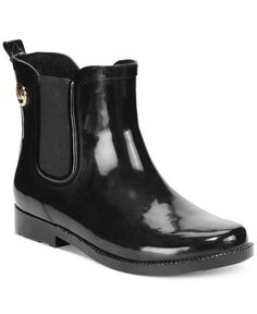 b689d78bc446 Excited to use these boots this year. MICHAEL Michael Kors MK Charm Rain  Booties -
