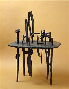Eduardo Paolozzi / Table Sculpture (Growth) / 1949 / Scottish National Gallery