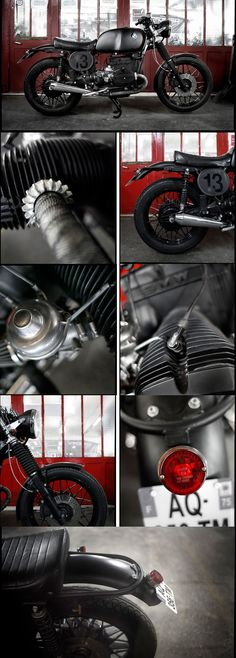 """BMW R100 """"Lucky 13"""" by Blitz Motorcycles - http://blitz-motorcycles.com/"""