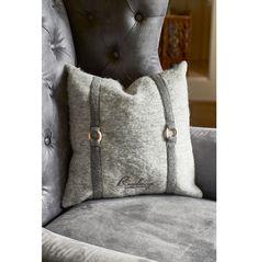 Residenza kašmírový polštářový kryt šedý 40x40 - polštářky - polštáře a textil - vše - kolekce