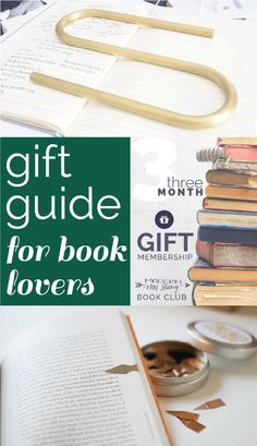 gift guide for book lovers: bookplates, book darts, book weights. Book Lovers Gifts, Book Gifts, Fun Gifts, Book Passage, Book Subscription, Book Jewelry, Gifts For Readers, Book Nerd, Love Book