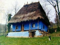Romanian People, Transylvania Romania, Bucharest Romania, European House, Landscape Pictures, Old Buildings, Illustrations And Posters, Traditional House, Old Houses