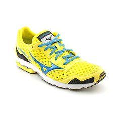 Mizuno Women's Wave Ronin 5 Running Shoe,Blazing Yellow/Diva Blue/White,11 W B US Big SALE - http://trailrunningshoes.hzhtlawyer.com/mizuno-womens-wave-ronin-5-running-shoeblazing-yellowdiva-bluewhite11-w-b-us-big-sale/