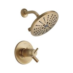 Buy the Delta Chrome Direct. Shop for the Delta Chrome Trinsic Tempassure Series Dual Function Thermostatic Shower Only with Shower Head and Integrated Volume Control Less Rough-In Valve - Limited Lifetime Warranty and save. Tub And Shower Faucets, Shower Valve, Shower Tub, Shower Heads, Plumbing Fixtures, Bathroom Fixtures, Bathrooms, Delta Trinsic, Water Patterns