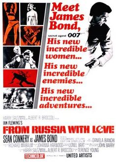The more I see this film the more I appreciate it as one of the best Bond films, behind Dr. No and Goldfinger