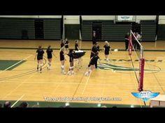 Off-the-net scrap drill - The Art of Coaching Volleyball Volleyball Warm Ups, Volleyball Passing Drills, Volleyball Gifs, Volleyball Skills, Volleyball Practice, Volleyball Training, Volleyball Workouts, Volleyball Outfits, Coaching Volleyball