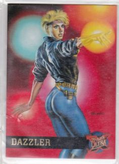 Dazzler- Fleer Ultra X-Men card #16   $2.75