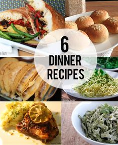 Dinner Recipes >> #CreateandInspire Features